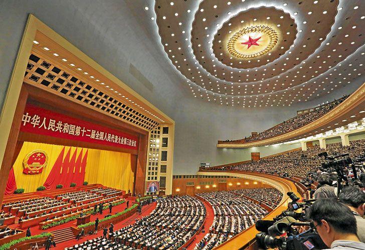 Tension. El Congreso Comunista chino se prepara para lidiar con un mandatario norteamericano hostil. Temor a un enfrentamiento entre las dos superpotencias.