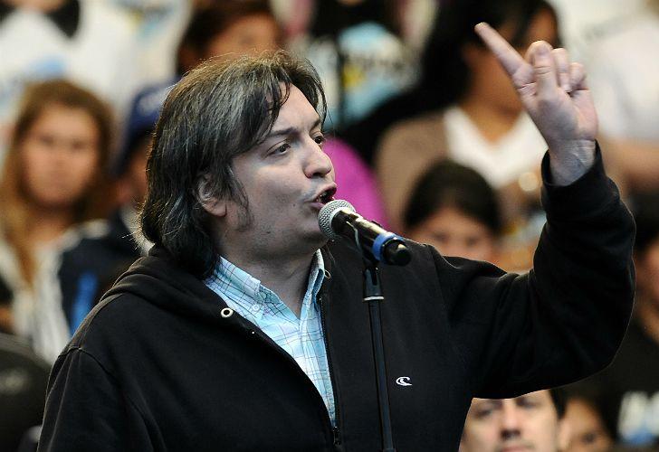 Máximo Kirchner defendió a Massa.