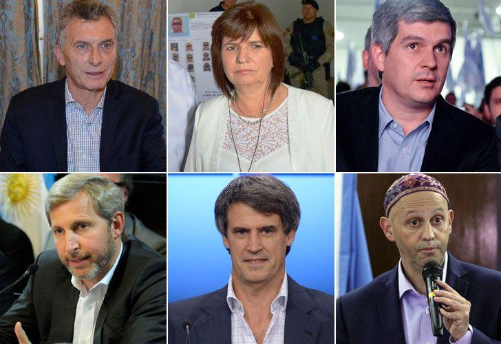 Macri y parte de su gabinete