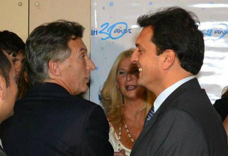 Massa y Macri