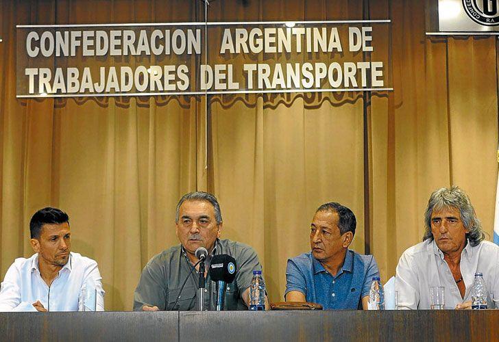Anuncio. Lo hizo ayer Juan Carlos Schmid, que integra el triunvirato de la CGT y dirige la CATT.