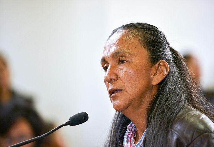 La abogada de Sala contó por qué la dirigente quiso clavarse una tijera en el abdomen