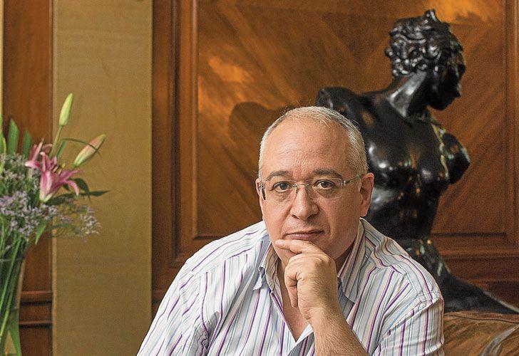 Bernard Lahire. El autor francés estuvo en Buenos Aires, invitado por la editorial Siglo XXI y el Instituto Franco Argentino.