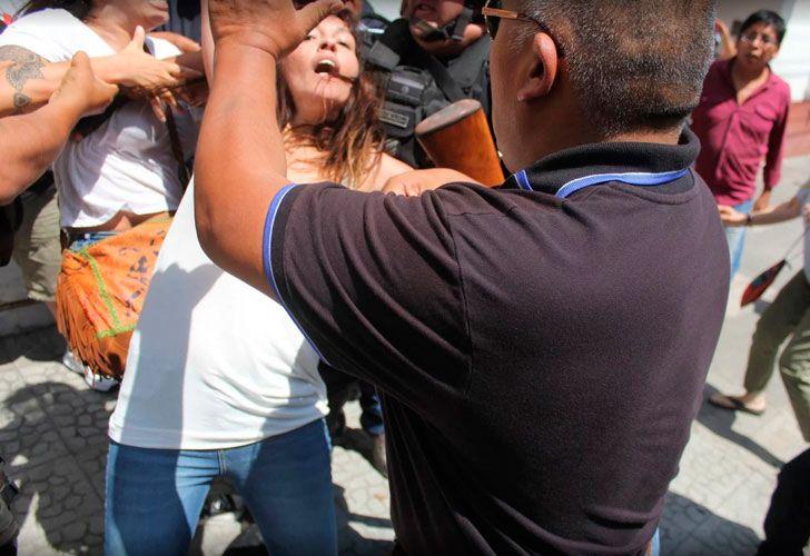 Agresión a Mayra Mendoza en Jujuy