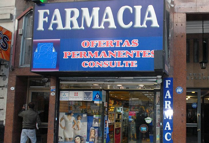 Las farmacias no atienden PAMI