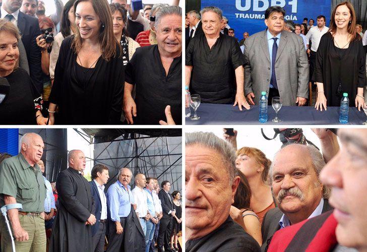 Vidal compartió actos con dirigentes del PJ