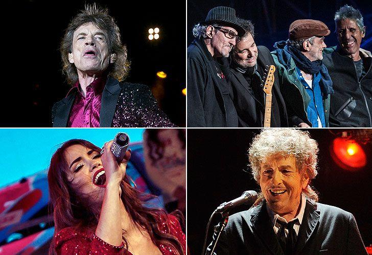 La gira de los Stones, el reencuentro de Los Abuelos de la Nada, los récords de Lali y el premio Nobel de Literatura de Dylan, algunos de los destacados.