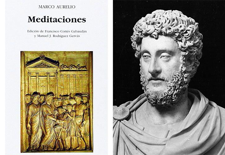 MONUMENTO AL DEBER: libro Meditaciones, de Marco Aurelio.
