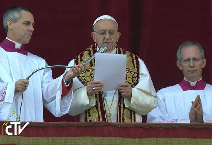 Mensaje Urbi et Orbi del Papa Francisco.