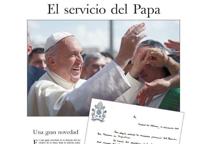La primera edición de la versión argentina de L'Osservatore Romano llega de la mano de PERFIL.