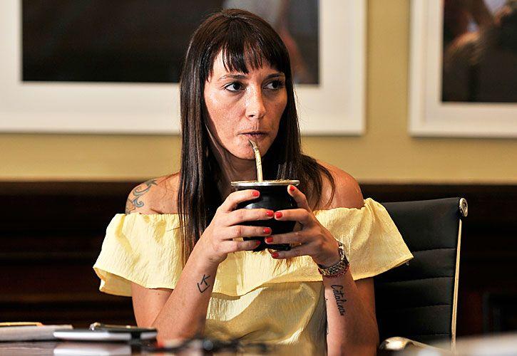 deseo. La legisladora quiere que Cristina Kirchner sea candidata.