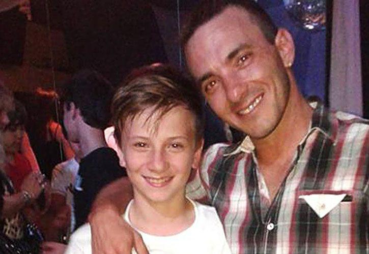 Brian tenía 14 años. Lo balearon el 24 de diciembre y murió dos días después.