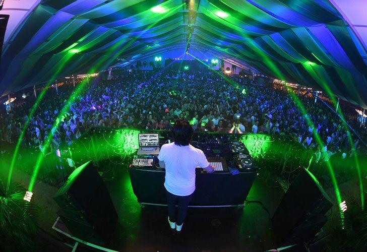 El evento contó con la actuación destacada del DJ Luciano.