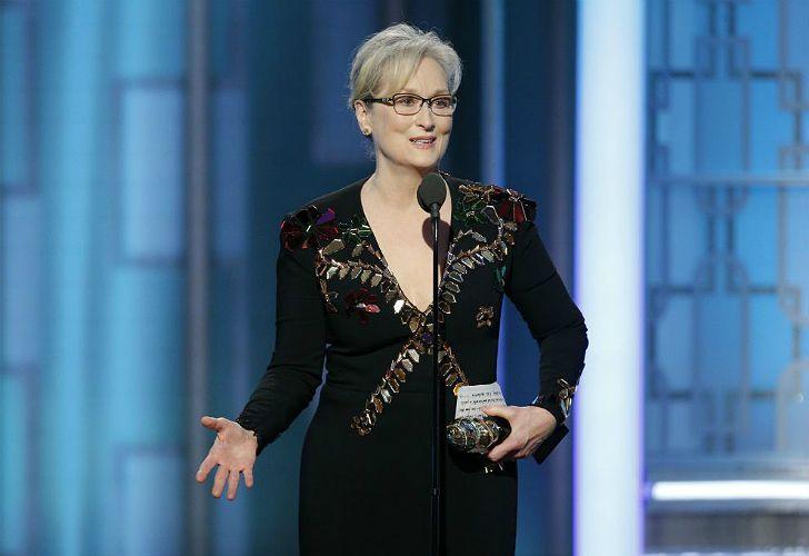 Meryl Streep, en los Globos de Oro