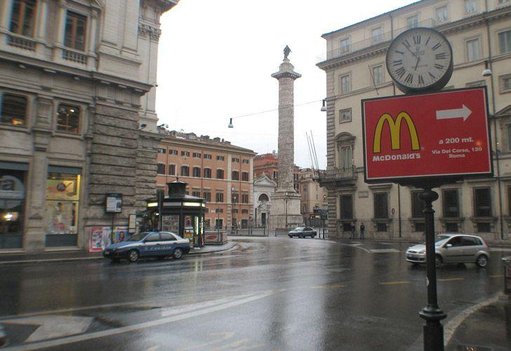 Mc Donalds Vaticano