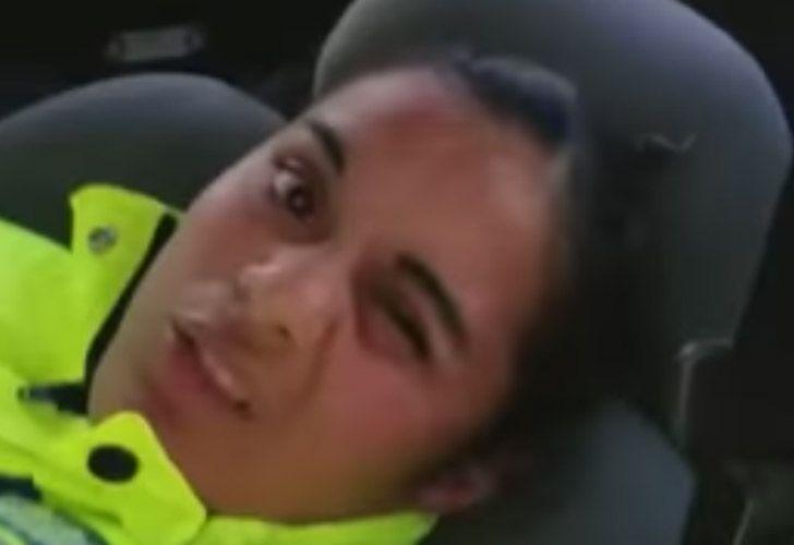 Policia Durmiendo