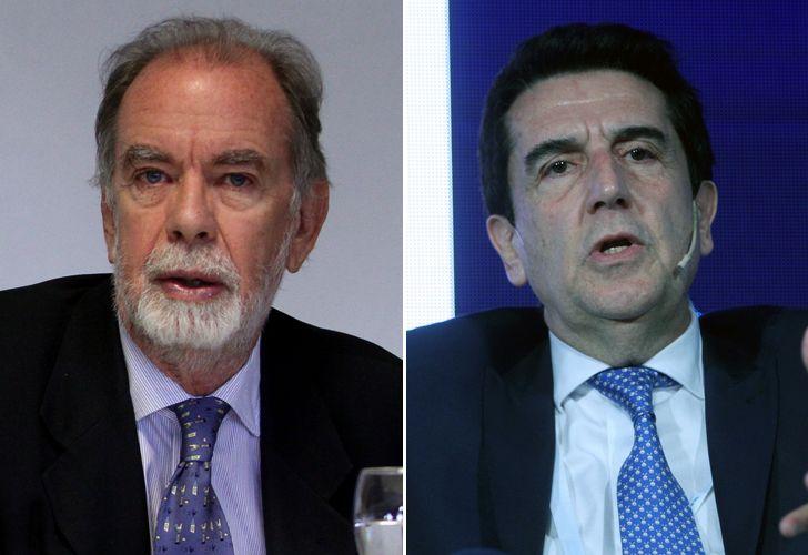 Javier González Fraga  y Carlos Melconian