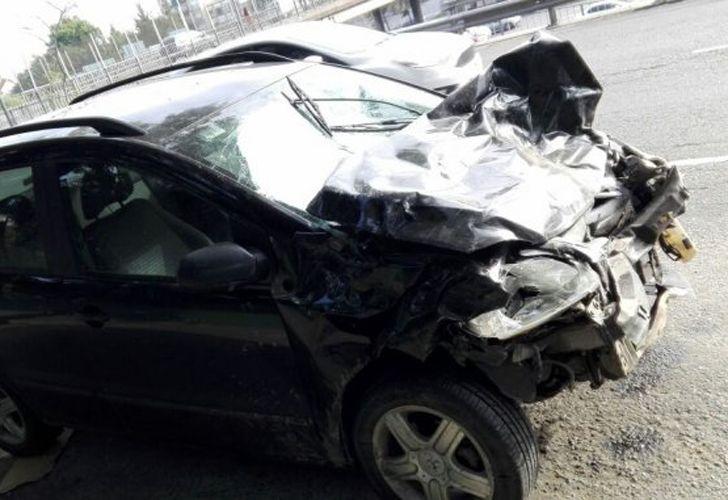 Accidente en Vicente Lopez
