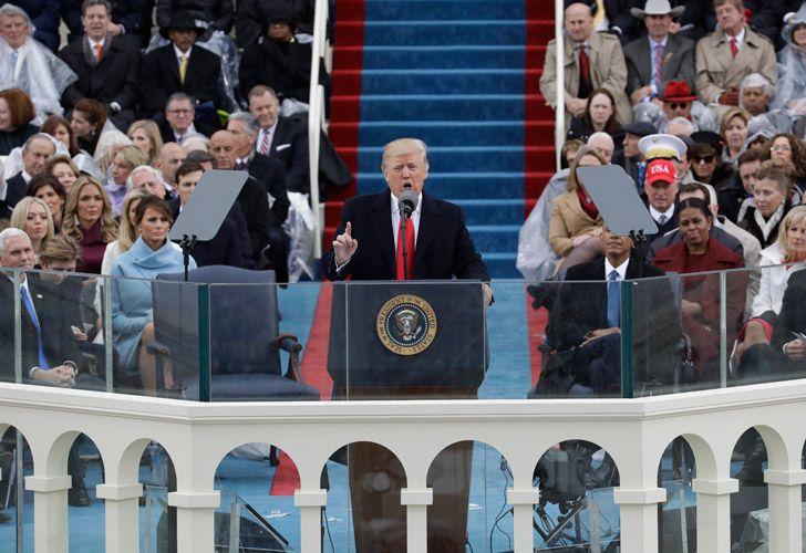 Asume Trump la presidencia de Estados Unidos.
