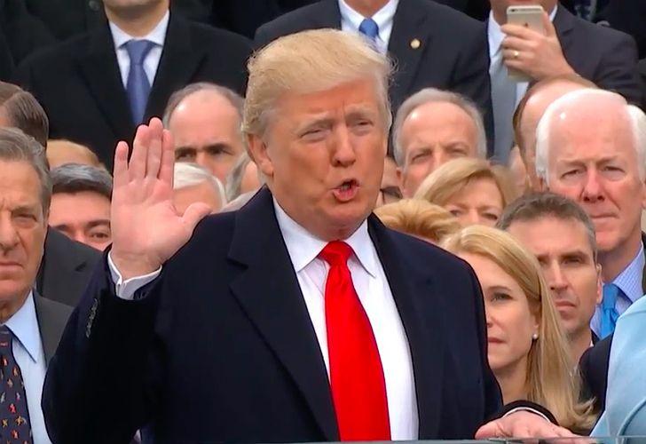 Juró Donald Trump