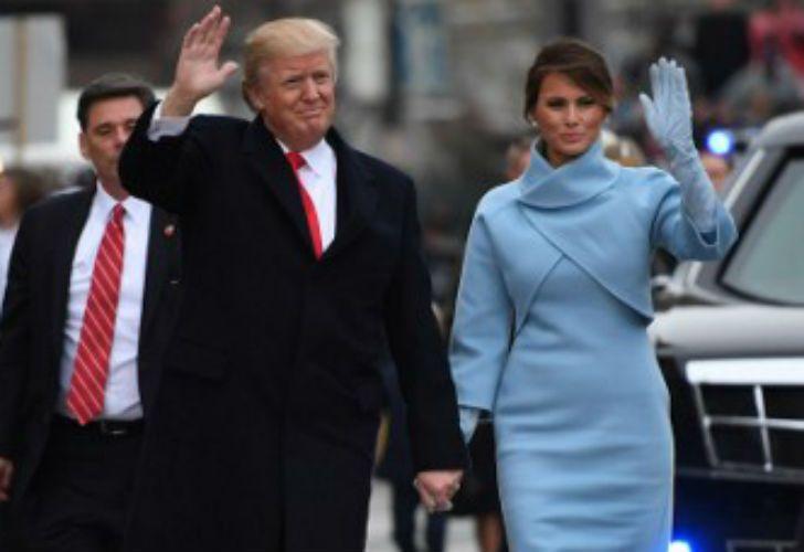 La asunción de Donald Trump como 45to presidente de los Estados Unidos.