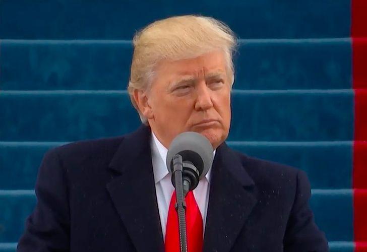 Trump, discurso inicial.