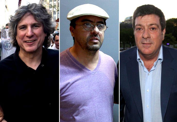 Boudou, Esteche y Mariotto