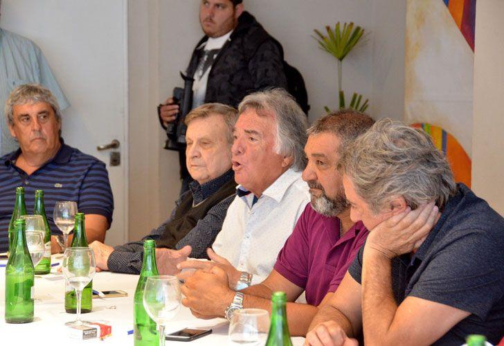Reunión de CGT en Mar del Plata.