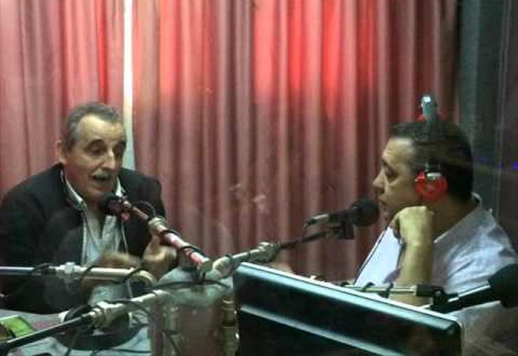 Guillermo Moreno, en diálogo radial con Luis D'Elía.