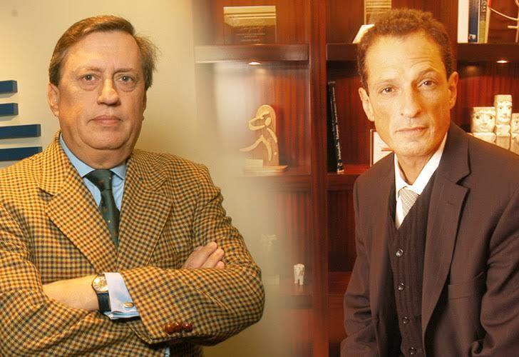 Tomás Sánchez de Bustamante (OSDE) y Claudio Belocopitt (Swiss Medical)