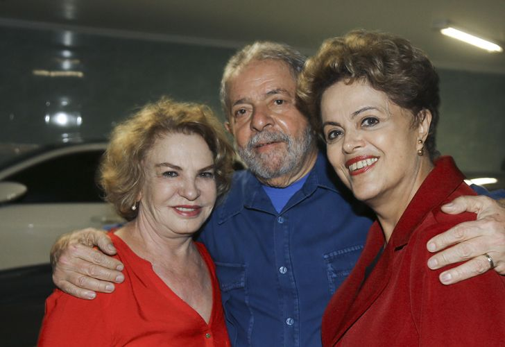Lula Da Silva, Leticia y Dilma