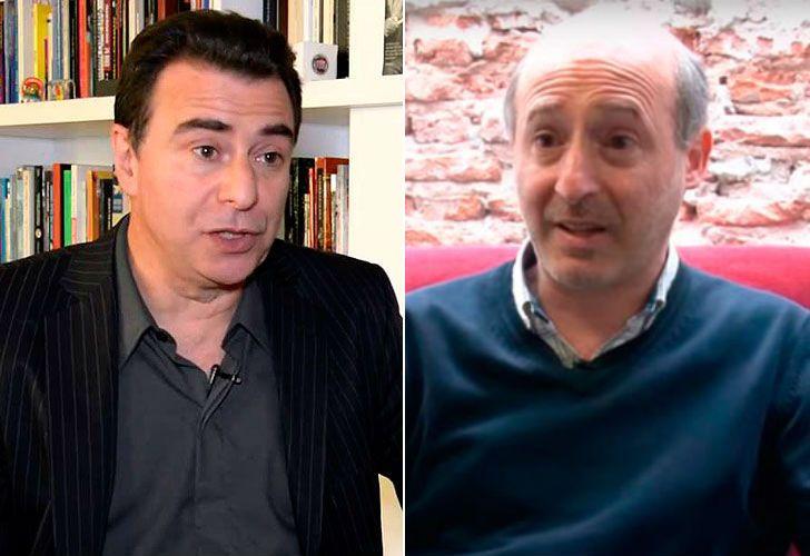 Los periodistas Alejandro Alfie y Reynaldo Sietecase.
