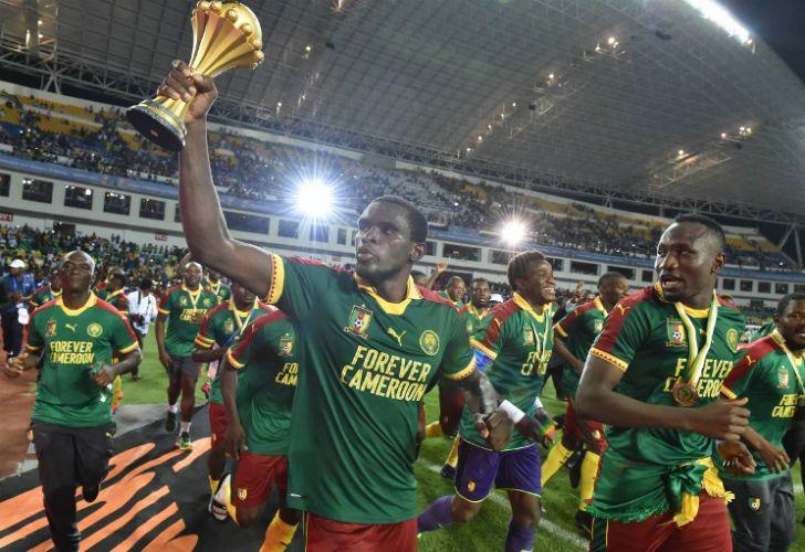 Camerún venció 2-1 a Egipto y se coronó campeón de la Copa África.
