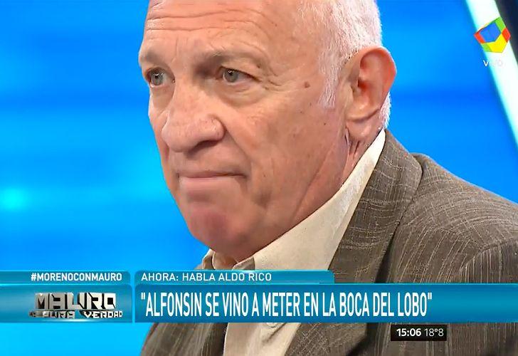 Aldo Rico, ex militar carapintada
