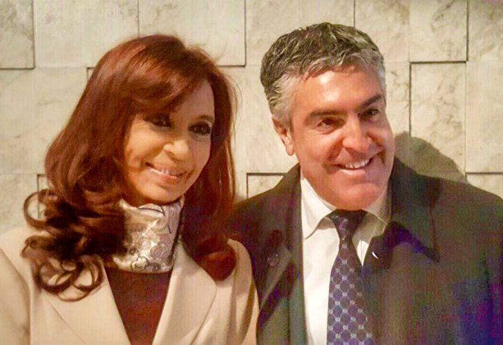 Cristina Kirchner, junto a su abogado Gregorio Dalbón.