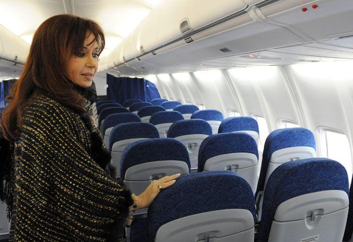 CFK canceló su vuelo