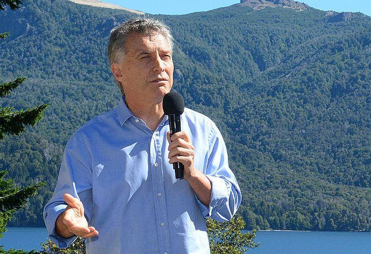 Macri, en la Patagonia