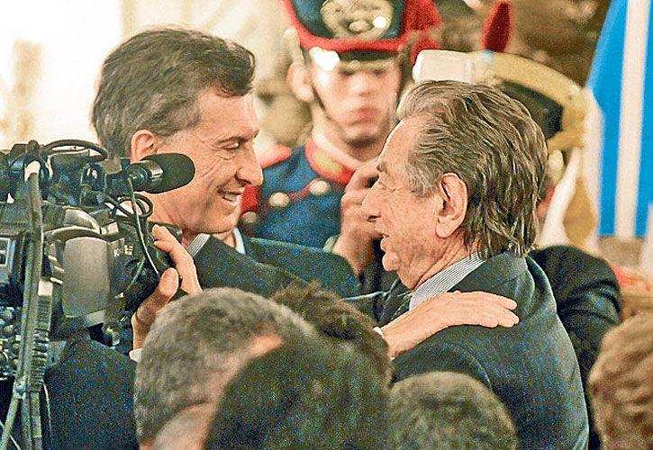 Relaciones complejas entre Franco Macri y el Presidente.