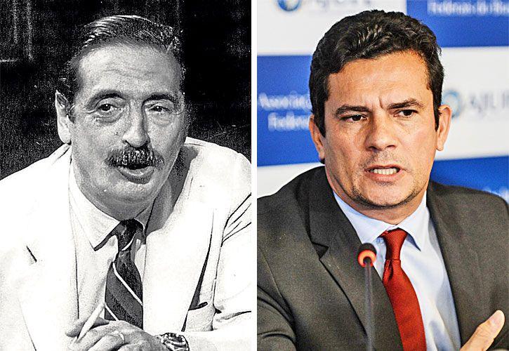 Strassera y Moro, justicieros de Argentina y Brasil.