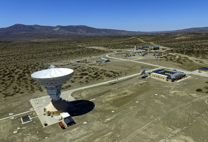 Base espacial china en Neuquén