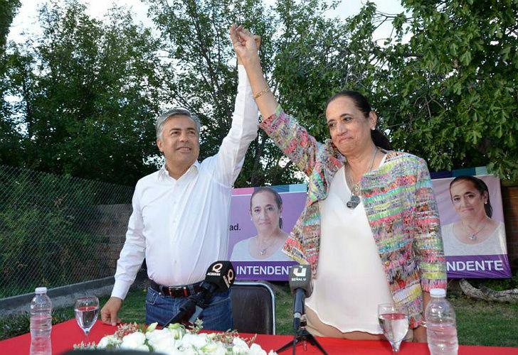 La candidata oficialista a intendente de Santa Rosa, Norma Trigo, se impuso en las elecciones de hoy.
