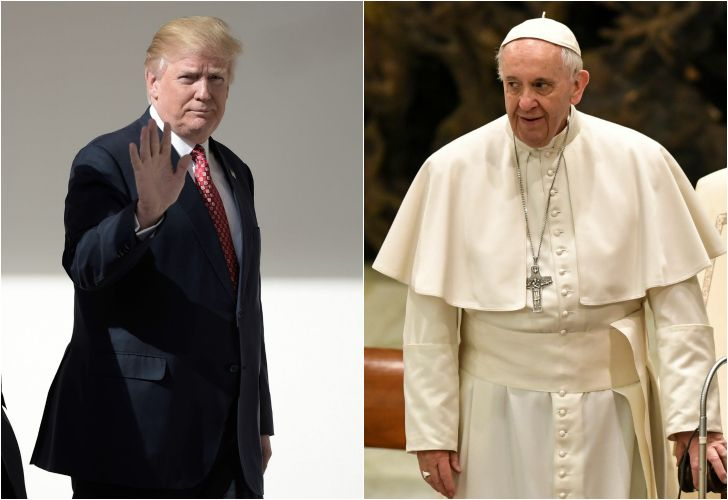 Donald Trump vs el Papa Francisco