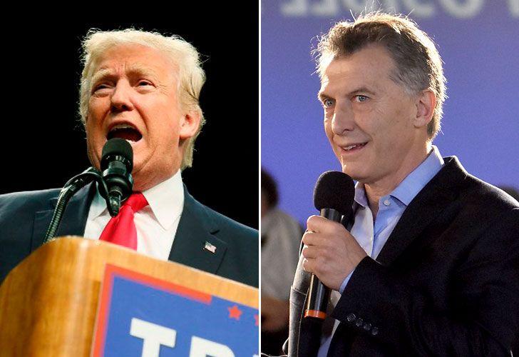 Mauricio Macri habló por teléfono con Donald Trump.