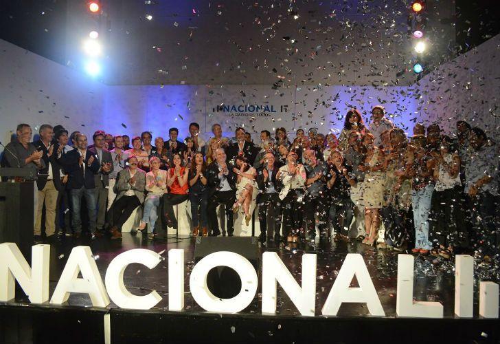 La presentación de Radio Nacional.