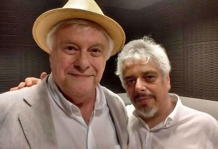 Bobby Flores y Héctor Larrea