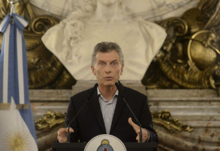 Macri dio una conferencia de prensa y habló de todo.