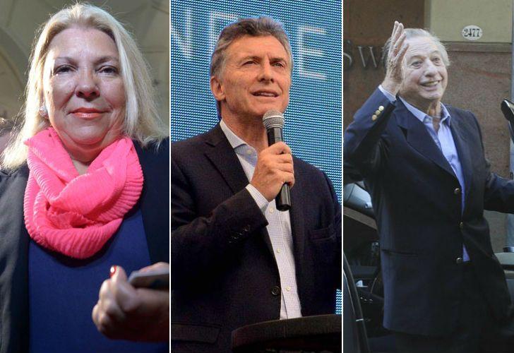 Mauricio Macri habló sobre Elisa Carrió y Franco Macri.