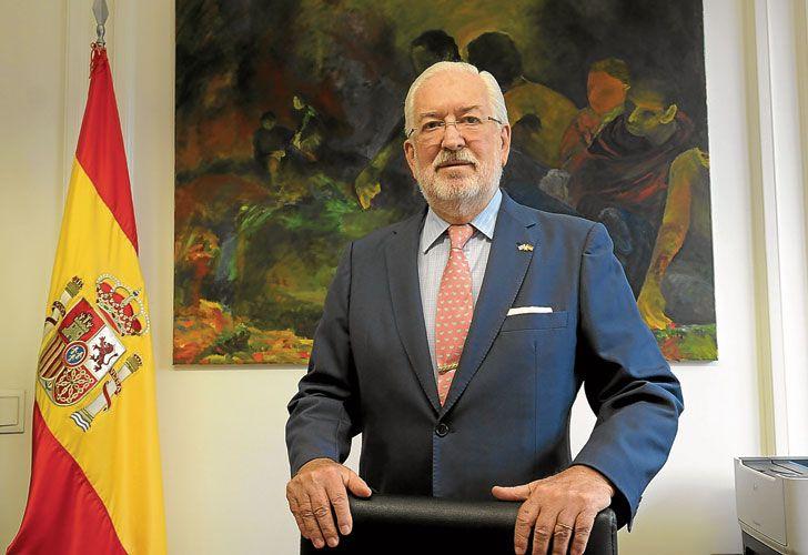 """Diplomatico. El embajador de España en Buenos Aires opinó que el macrismo trajo un """"mejor clima"""" para hacer negocios en el país."""