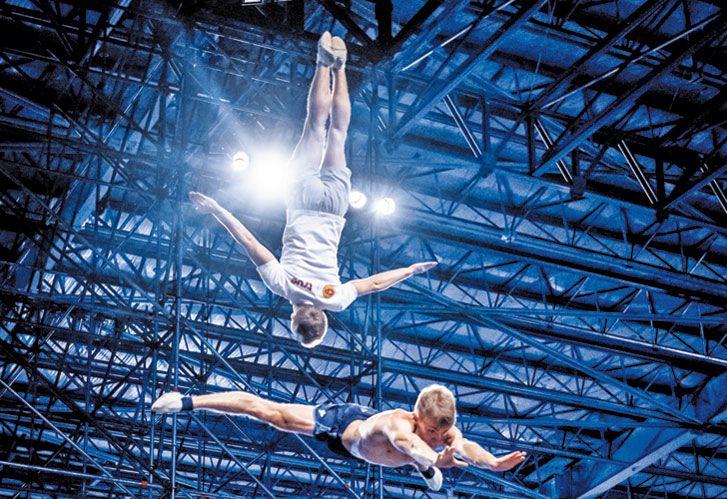 A PLENO. Miles de fans siguen todos los ensayos que dirige Michel Laprise a través del Facebook. El show más esperado.