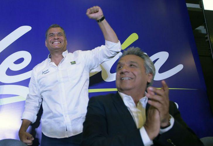 Triunfo oficialista en Ecuador.